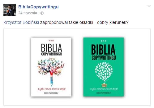 Okładki Biblii Copywritingu
