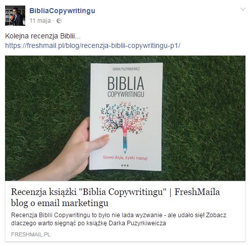Recenzja Biblii Copywritingu